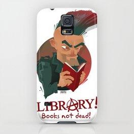 Books not dead! iPhone Case