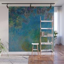 "Claude Monet ""Wisteria"" Wall Mural"