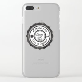 A Damn Fine Cup of Coffee! Clear iPhone Case