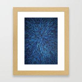 Blue Spag Dream Framed Art Print