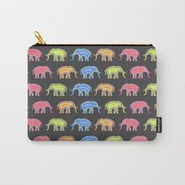 Elephants (Pop Art & Pattern) Carry-All Pouch