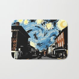Main Street Lexington Starry Night Bath Mat
