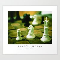 King's Indian Art Print