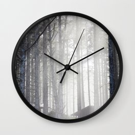 Sun at Cape Lookout Wall Clock