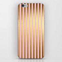 bisexual iPhone & iPod Skins featuring Striped by Better HOME