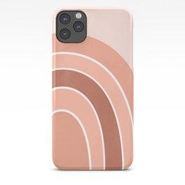 Rainbow arc - neutrals iPhone Case