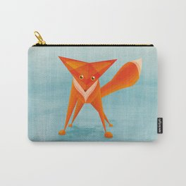Fox on ice Carry-All Pouch