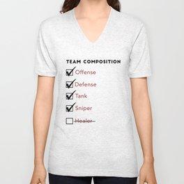 Team Composition Unisex V-Neck