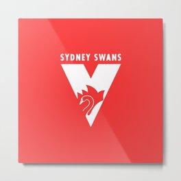 SYDNEY SWANS LOGO Metal Print