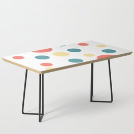 Coral Pop Coffee Table