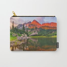 Rocky Mountain Glow Carry-All Pouch