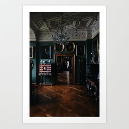 A Royal Interior Art Print