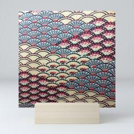 Shell pattern Mini Art Print