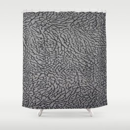 Cement From Your Jordan Sneakers Shower Curtain