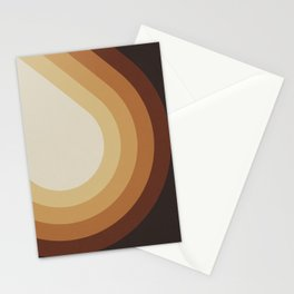 Retro Brown Stationery Cards