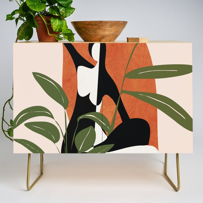 Abstract Female Figure 20 Credenza