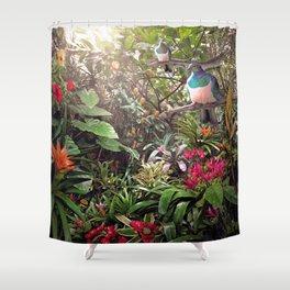 Temptation (NZ Kereru /  Woodpigeon artwork) Shower Curtain