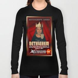Faith Knucklez appearance card - King of Arcades World Premiere, Bethlehem PA Long Sleeve T-shirt