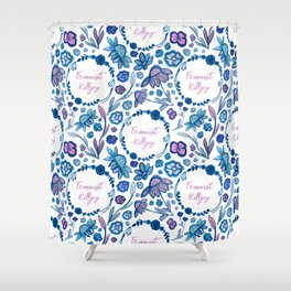 Feminist Killjoy - A Floral Pattern Shower Curtain