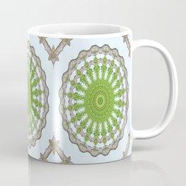 Bark Leaves Stone Kaleidoscope Art 3 Coffee Mug