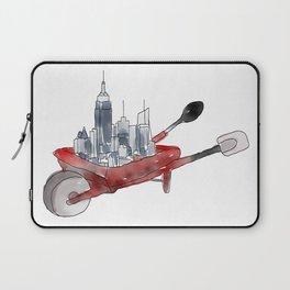 New York, Kitchen Gear, Wheel Barrow Laptop Sleeve
