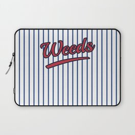 Weeds Typographic Design Laptop Sleeve