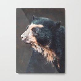 Speckled Bear Metal Print