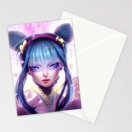 GIRL - 日本アニメ Stationery Cards