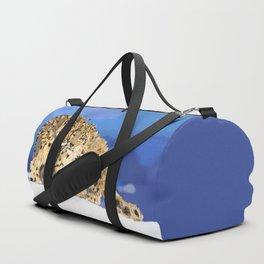 Snow leopards Duffle Bag