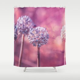 Delicate Morning Shower Curtain