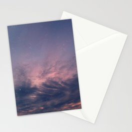 One warm summer evening Stationery Cards