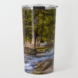 Small old bridge Travel Mug