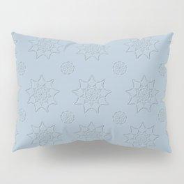 3D Pattern Stone - Pointilism Pattern Pillow Sham