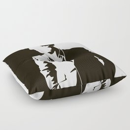 Police don't consult amateurs Floor Pillow