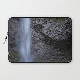 Water and Rock of Latourell Falls Laptop Sleeve