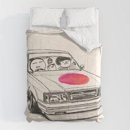 Crazy Car Art 0172 Comforters