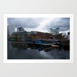 Regency Wharf Birmingham Art Print
