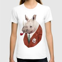 rhino T-shirts featuring Rhino by Animal Crew