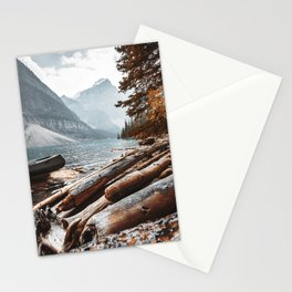 Moraine Lake at banff Stationery Cards