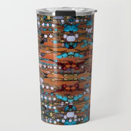 Abstract Indian Boho Travel Mug