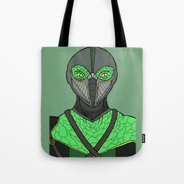 The Walking Serpent Tote Bag