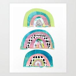 Over the Rainbows Art Print