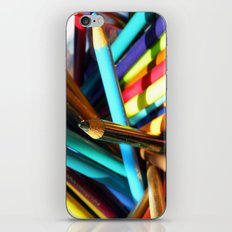 Color the world iPhone & iPod Skin