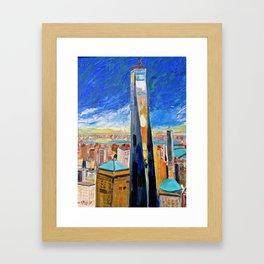 Freedom Tower Framed Art Print
