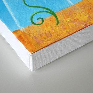 bee movie technicolor Canvas Print
