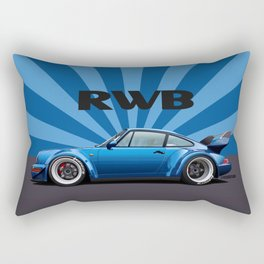 RWB 964 Turbo F&F Rectangular Pillow