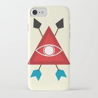 illuminati iPhone & iPod Cases featuring Illuminati by Lucas de Souza
