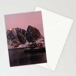 Sunrise in Lofoten Stationery Cards