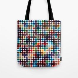 Rope Geometric Art Print. Tote Bag