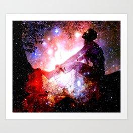 Journey into the Cosmos Art Print